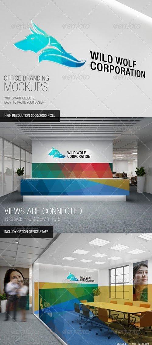 GraphicRiver - Office Branding Mockups