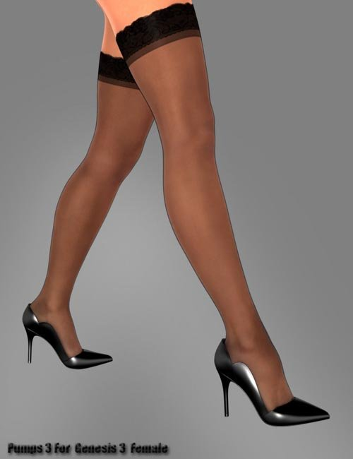 Pumps 3 for Genesis 3 Female(s)