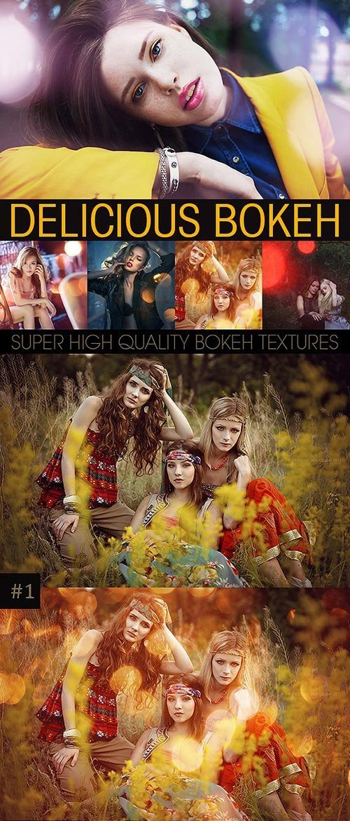 GraphicRiver - Bokeh Textures and Actions Vol.3