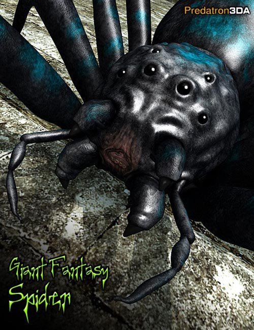 Giant Fantasy Spider