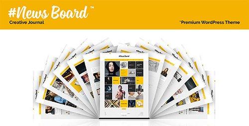 ThemeForest - #News Board v1.1.0 - WordPress Theme