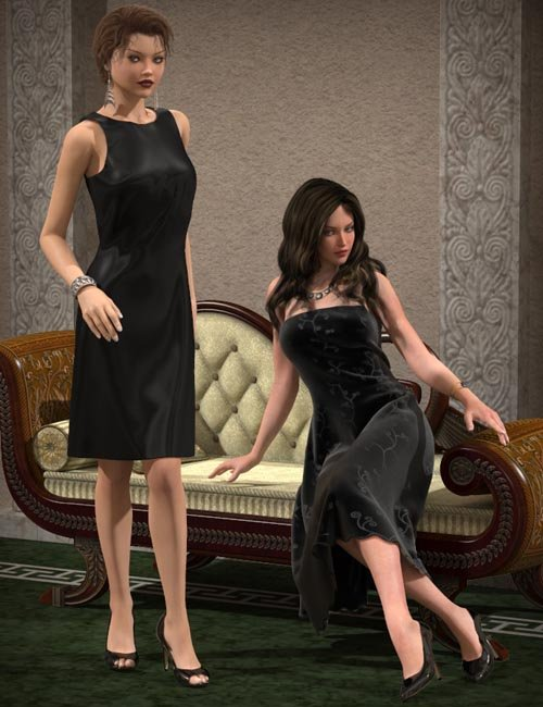 Little Black Dress for V4