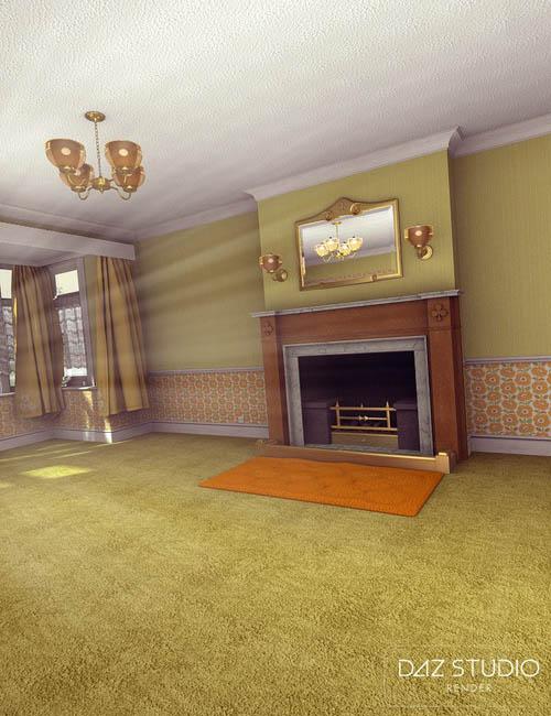 A cozy kitsch living room best daz3d poses download site for Living room 2 for daz studio