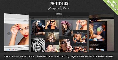 ThemeForest - Photolux v2.3.2 - Photography Portfolio WordPress Theme