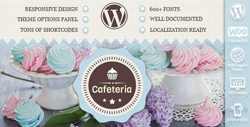 ThemeForest - Cafeteria v1.6 - Responsive WordPress Theme