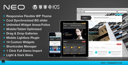 ThemeForest - NEO v1.1.3 - Premium Responsive Business WordPress Theme