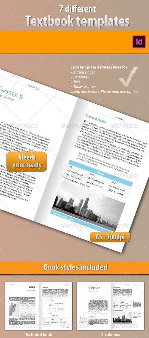 GraphicRiver - 7 Ebook Templates