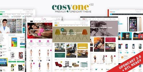ThemeForest - CosyOne v2.2 - Multipurpose Opencart Theme