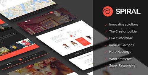 ThemeForest - Spiral v1.0 - Inovative Multipurpose Theme