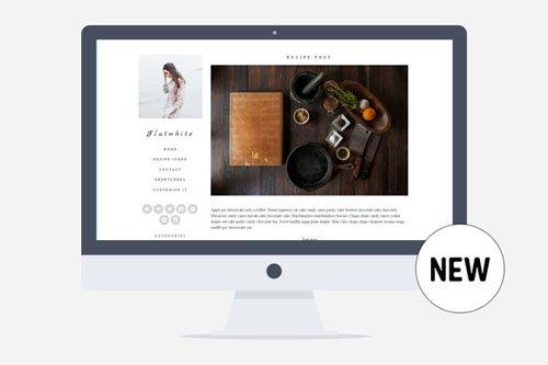 Creativemarket - Flatwhite - Food&Lifestyle v1.0 - Minimal Wordpress Theme for Food Bloggers 282395