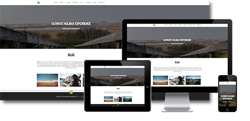 ASTemplates - Holiday v1.0.0 - One Page is a Fully Responsive Joomla 2.5 & 3.x Template