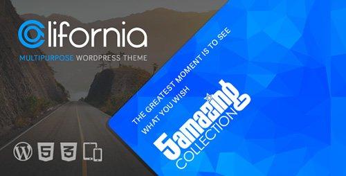 ThemeForest - California v2.3.1 - Multipurpose WordPress Theme
