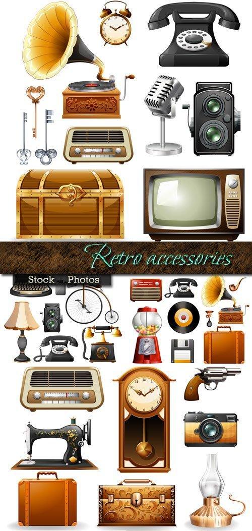 Accessories in Retro style