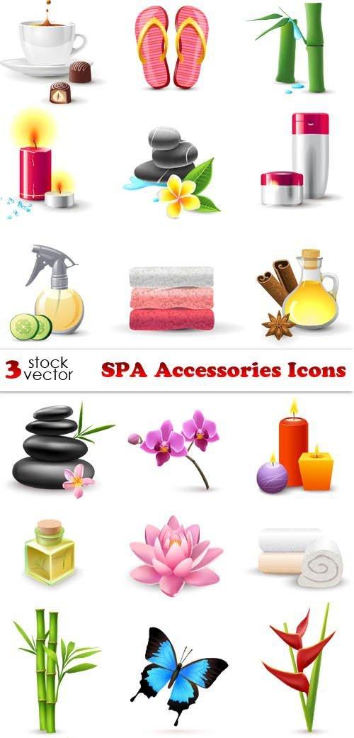 Vectors - SPA Accessories Icons