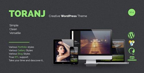 ThemeForest - Toranj v1.7.0 - Responsive Creative WordPress Theme
