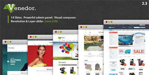 ThemeForest - Venedor v2.3 - WordPress + WooCommerce Theme