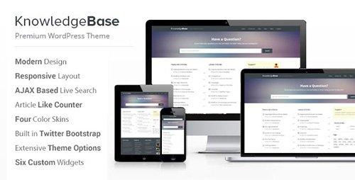 ThemeForest - Knowledge Base v1.4.1 - A WordPress Wiki Theme