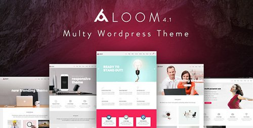 ThemeForest - Aloom v4.1 - Responsive MultiPurpose Wordpress Theme