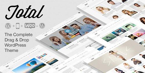 ThemeForest - Total v2.1.4 - Responsive Multi-Purpose WordPress Theme