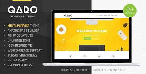 ThemeForest - Qaro v1.1.2 - Responsive Multi-Purpose WP Theme