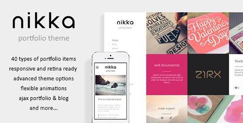 ThemeForest - Nikka v1.1.0 - AJAX Portfolio WordPress Theme