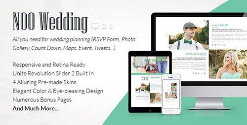 ThemeForest - Wedding v1.0.0 - The Tasteful Wedding Joomla Template