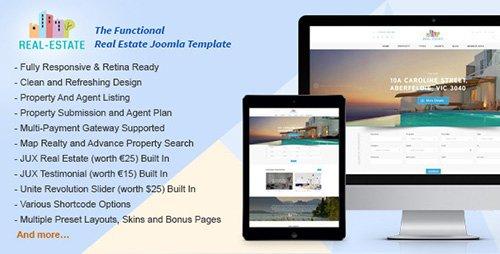 ThemeForest - Functional v1.0.0 - Real Estate Joomla Template