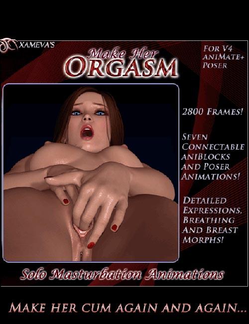 Make Her Orgasm - Solo Masturbation Animations