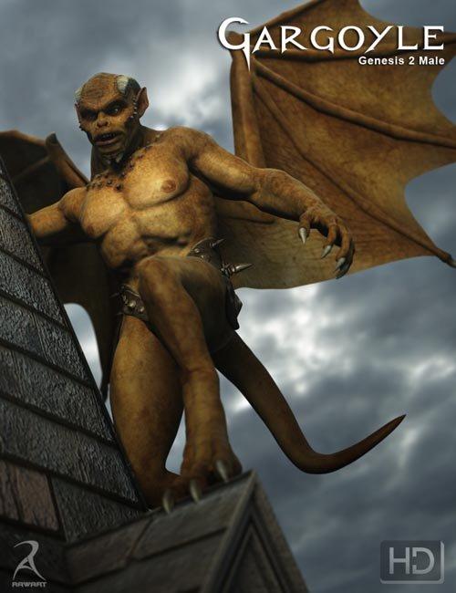 Gargoyle HD for Genesis 2 Male(s)