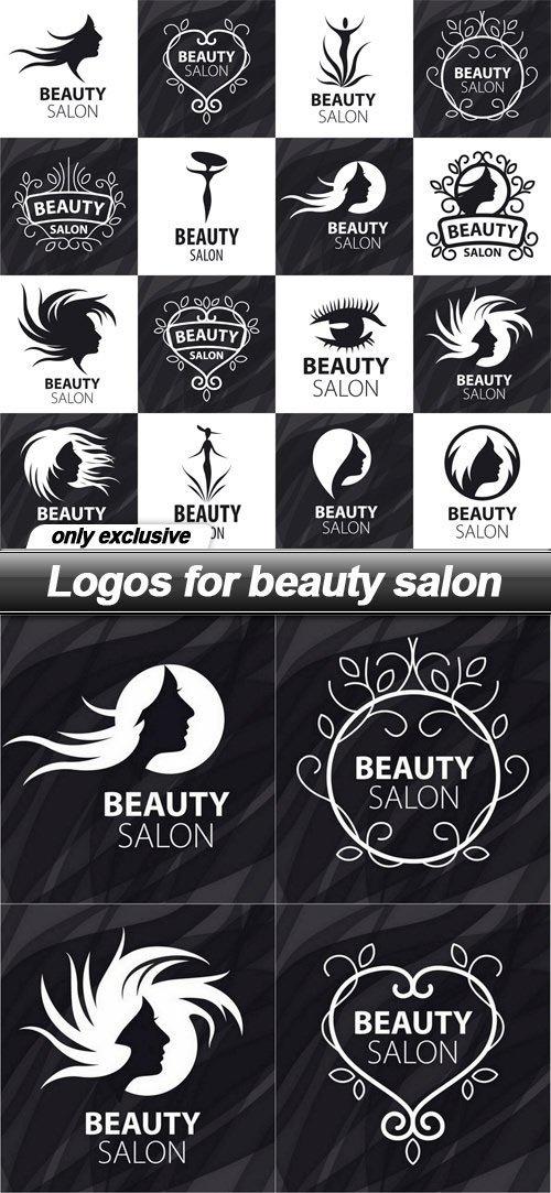 Logos for beauty salon - 9 EPS