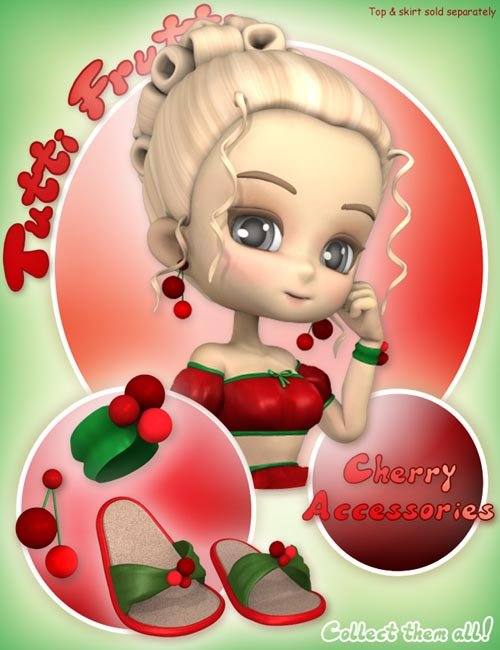 Tutti Frutti: Cherry Accessories for Cookie