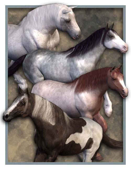 Millennium Horse Texture Pack 2