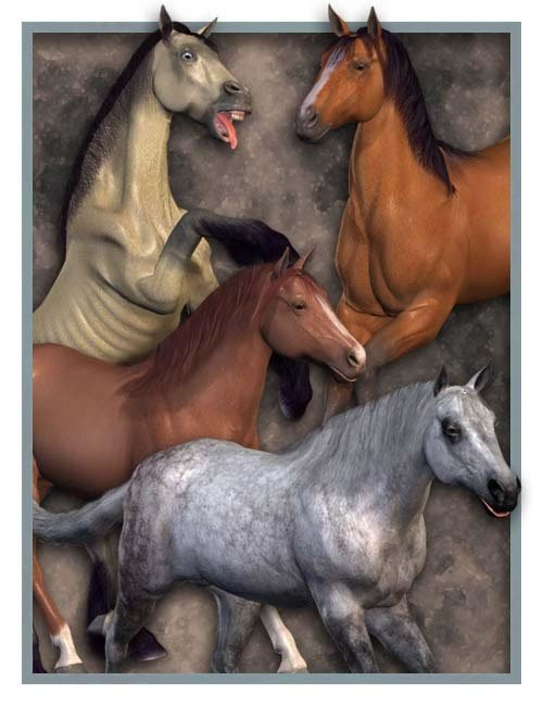 Millennium Horse Texture Pack 1