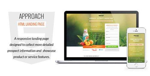 ThemeForest - Approach v1.02 - HTML Landing Page - FULL