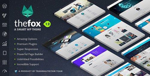 ThemeForest - TheFox v1.23 - Responsive Multi-Purpose WordPress Theme