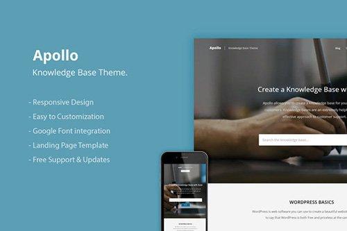 CreativeMarket - Apollo v1.0.3 - Knowledge Base WordPress Theme