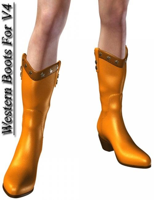 Western Boots for V4 A3