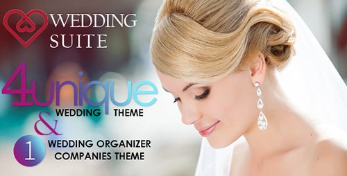 ThemeForest - Wedding Suite v1.2.1 - WordPress Wedding Theme