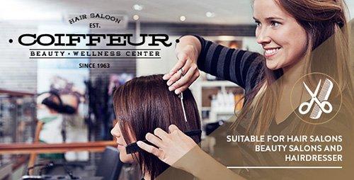 ThemeForest - Coiffeur v1.7 - Hair Salon WordPress Theme