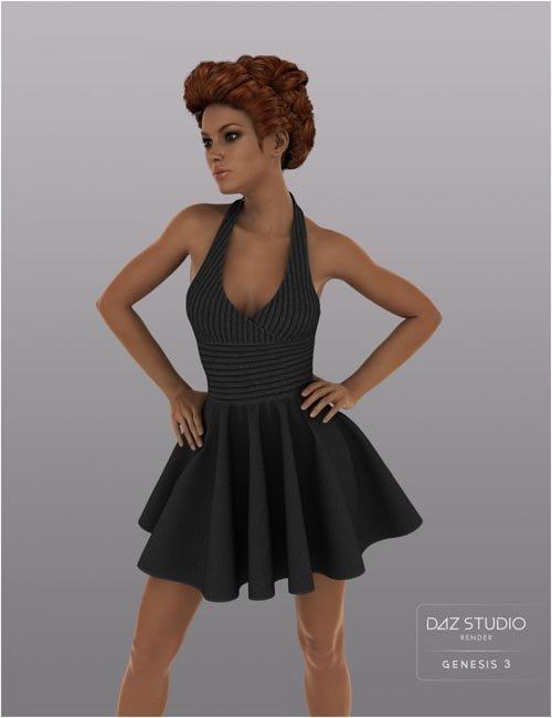 W Skirt for Genesis 3 Female(s)