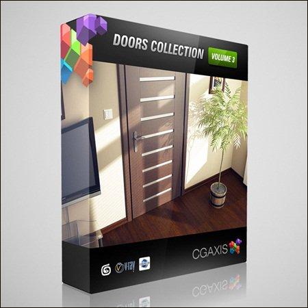 CGAxis Models Volume 3 Doors