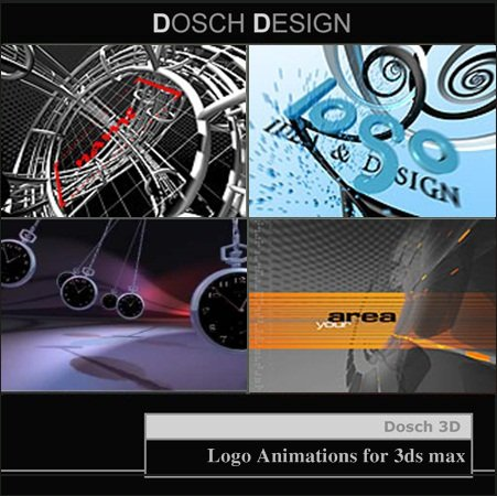 Dosch Design: 3D – Logo Animations for 3ds max