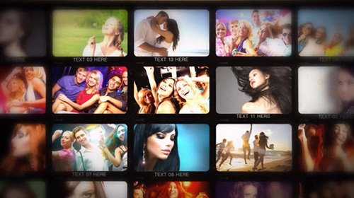 Contact Sheet - After Effects Template (Motion Array)