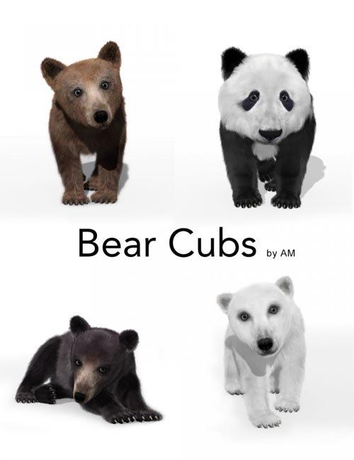 Bear Cubs by AM