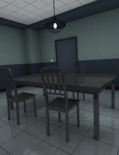 Cross-Examination Room