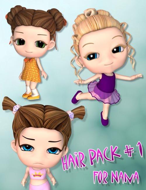 Hair Pack 1 for Nana