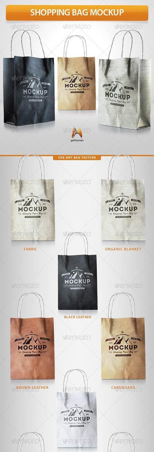 GraphicRiver - Shopping Bag Mockup 7709318