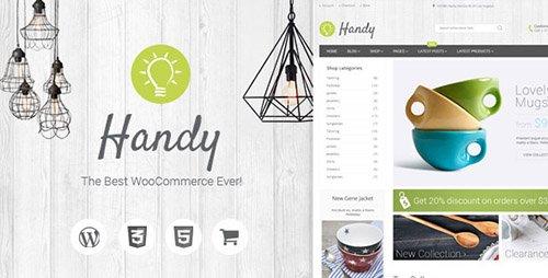 ThemeForest - Handy v1.2.3 - Handmade Shop WordPress WooCommerce Theme