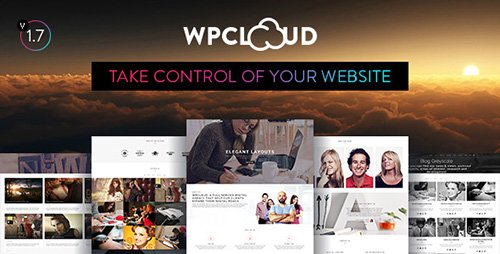 ThemeForest - WPCLOUD v1.3 - Creative One-Page Theme