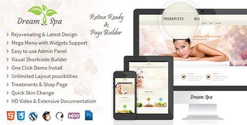 ThemeForest - Dream Spa v1.7.3 - Responsive Beauty Salon WordPress Theme